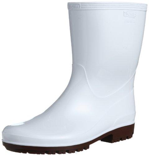 [ミドリ安全] 作業長靴 耐滑 耐油 耐薬 ハイグリップ HG2100 N スーパー メンズ ホワイト 23.0(23cm)