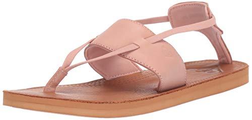 Roxy Damen Shawna Leather Sandale, Blush, 35 EU