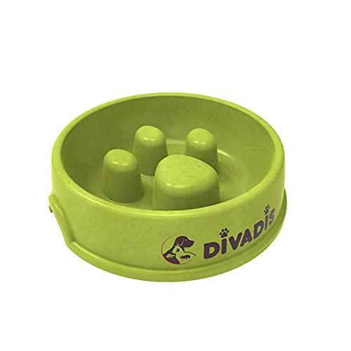DIVADIS Comedero para Perros Antivoracidad Tamaño Grande - 23 cm