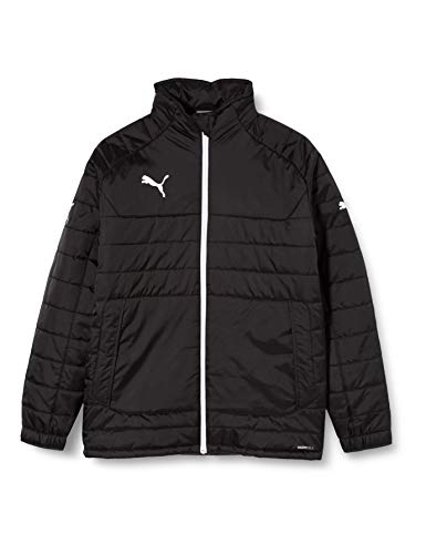 PUMA Kinder Jacke Stadium Jacket, Black/White, 164