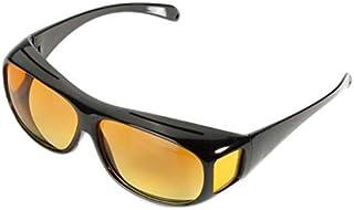 Night Optic Vision Driving Anti Glare Sunglasses For Unisex