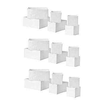 Ikea Skubb Storage Box,drawer Organizer,multiuse SET OF 18 White