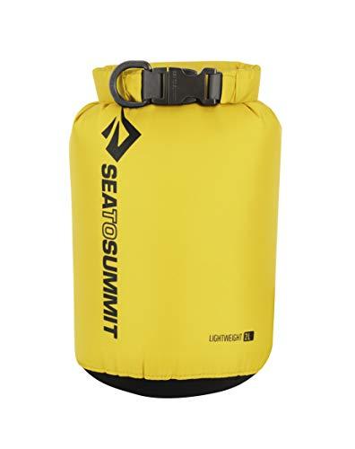 Sea to Summit Lightweight 70D Dry Sack-2 litros Saco Montañismo, Alpinismo y Trekking, Adultos Unisex, Amarillo (Yellow), Talla Única