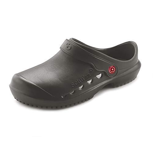 Schu'zz - Protec - Zuecos médicos para Mujer - Zapatos de Hospital - Ligeros, cómodos, Transpirables, Antideslizantes, Suela extraíble
