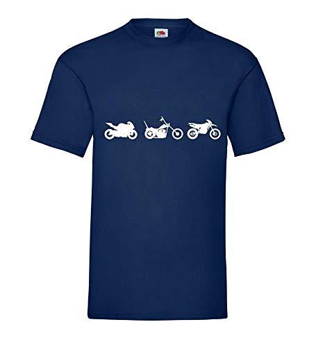 Chopper Enduro Cross mannen T-shirt - shirt84.de
