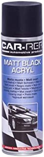 Car-Rep 500 ml Acryl Black Matt Spray-paint for Wheels