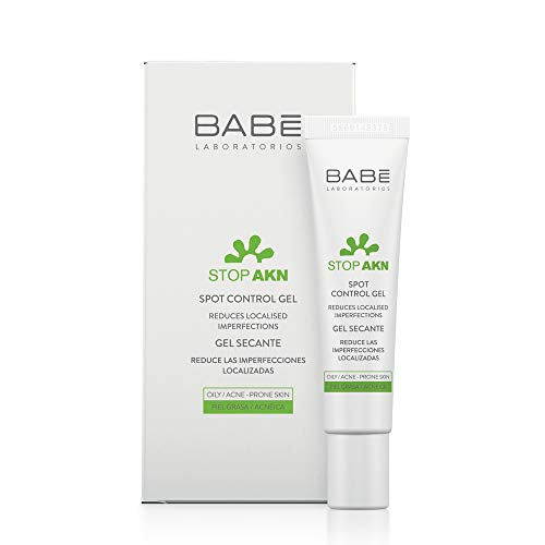 Laboratorios Babé - Stop AKN Gel Facial Secante 8 ml, Acción Intensiva, Cicatrizante, Tratamiento Acné, Disminución de Acné, Combate las Imperfecciones del Rostro