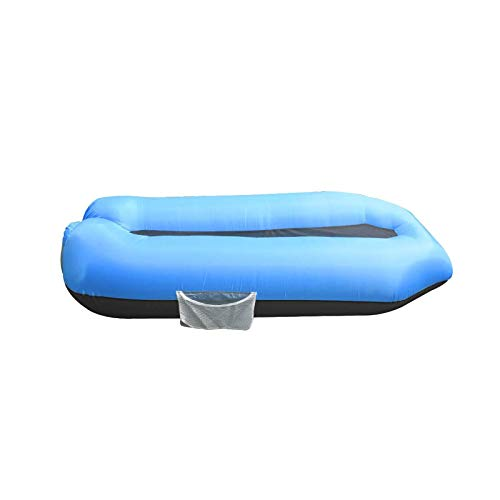 BANGSUN Tumbona inflable flota piscina impermeable y diseño a prueba de fugas de aire
