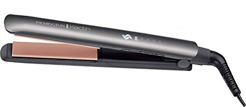 Remington Keratin Protect Intelligent Ceramic Hair Straighteners, Infused with Keratin and Almond Oil, S8598