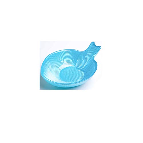 CKH Kreativer Frucht-Teller-dekorativer Teller-getrockneter Frucht-Teller-Glasfruchtkorb-europäische kleine Tümmler-Salat-Schüssel