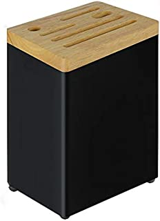 WZHZJ Couteau Porte-boîte de Rangement de Cuisine Fournitures Rangement des Couteaux Porte-Couteaux ménagers étagère de Ra...