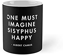 Albert Camus - One Must Imagine Sisyphus Happy Mug(One Size)