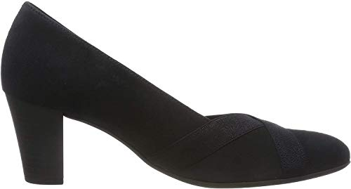 Gabor Shoes Damen Comfort Fashion Pumps, Blau (Pazifik Glitter) 26, 40 EU