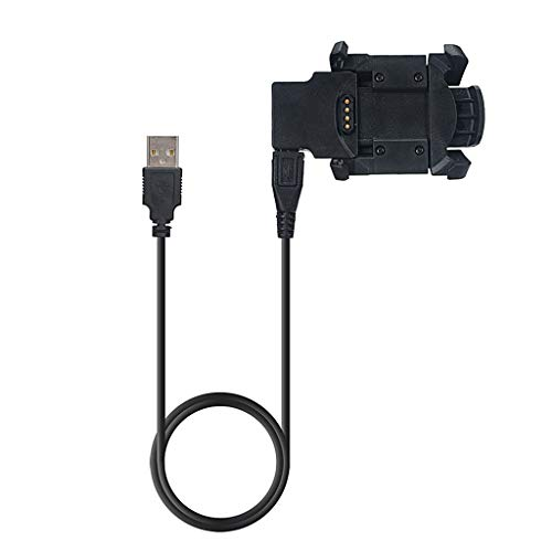 siwetg Cable De Sincronización De Datos De Carga del Cargador De Base USB para Reloj Garmin Fenix 3 Nuevo
