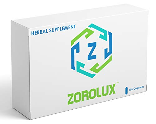 ZOROLUX - HIGH Strength 450mg Male Herbal Supplement, Performance Enhancing Supplements for Energy, Stamina and Endurance (10 Capsules)