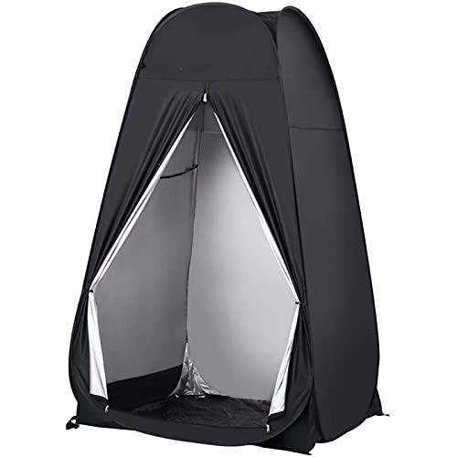 XYZLEO Acampar Tienda de Ducha Vestuario Impermeable Camping Desplegable Pop Up, Tienda de Campaña Portátil para Privacidad al Aire Libre 47.2 * 47.2 * 78.7 in