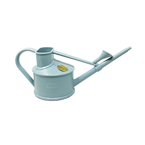 1 Pint Plastic Watering Can - Used for Houseplants, Flowers or Bonsai Trees + Indoor and Outdoors use of Sprinkling Plants (1 Pint, Sky Blue)