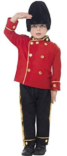Fancy Me Jungen Pelzmütze Tschako Wache königsblau Britisch London Soldat Militär Uniform Kostüm Kleid Outfit 4-12 Jahre - Rot, 7-9 Years