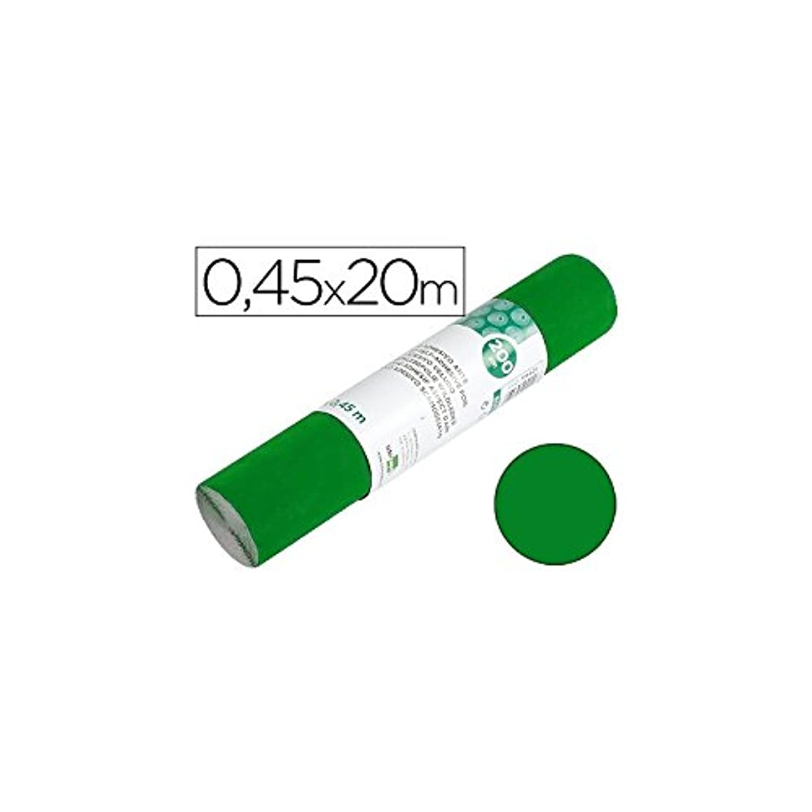Liderpapel RO01 Adhesive Roll 450 mm x 20 m Shiny Green