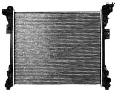 TYC 13062 Compatible with Chrysler Town and Country 1-Row Plastic Aluminum Replacement Radiator
