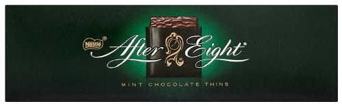 After Eight Láminas de Chocolate Negro y Menta - Estuche 12x300 g