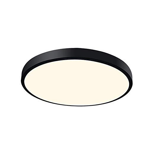 ZHHk Iluminación Lámpara de Techo Led Lámpara de Dormitorio Moderna Minimalista Moderna Lámpara de Sala de Estar de Estilo Chino Lámpara Redonda de Restaurante