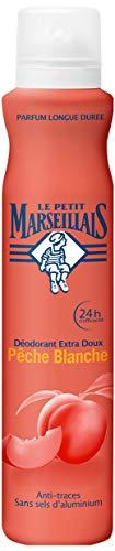 Le Petit Marseillais Déodorant Extra Doux 24h Pèche Blanche Spray 200 ml