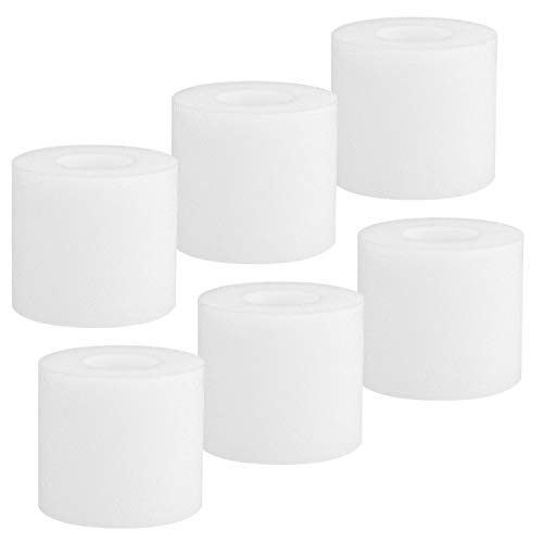 LINNIW 6 Pack Shark LZ601 Filters Compatible with Shark APEX UpLight Lift-Away DuoClean with Self-Cleaning Brushroll Stick Vacuum LZ600, LZ601, LZ602, LZ602C, Compare to Part # XFFLZ600
