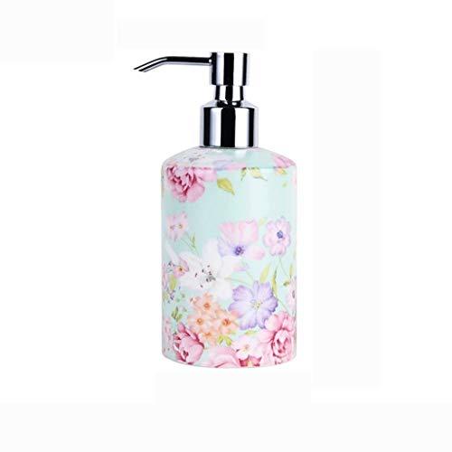 Dispensador de jabón para ducha Alimentador del jabón líquido dispensador de jabón for el baño Mueble de cocina Loción y dispensador de jabón líquido botella de la bomba de jabón de cerámica Jabón Dis