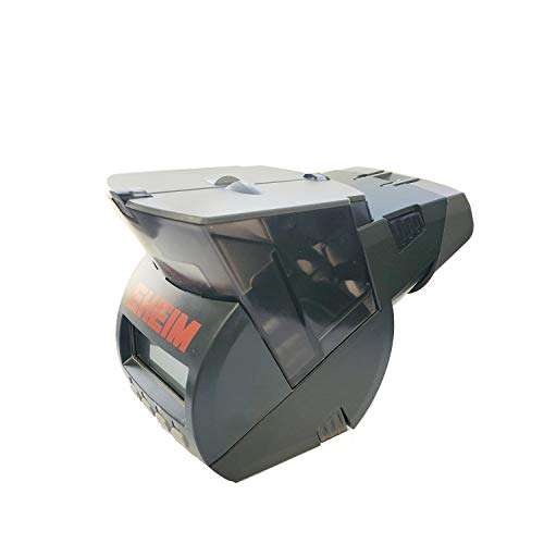 Eheim 3582000 Futterautomat TWIN mit zwei Futterkammern, Batteriebetrieb