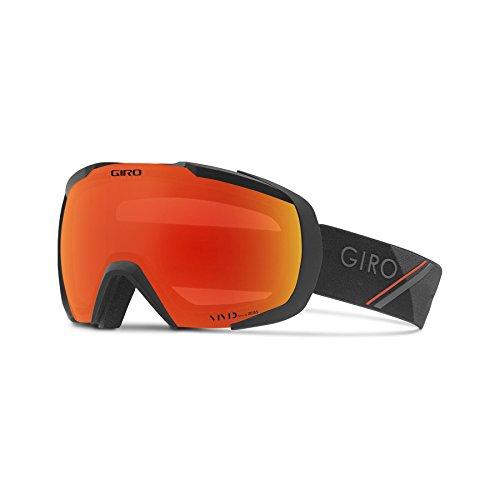 Giro Herren Onset Skibrille, Black/red sporttech, Einheitsgröße