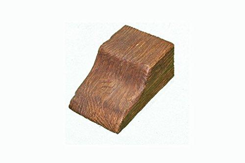 Ménsula para viga de poliuretano 15x9x6cm - Nogal