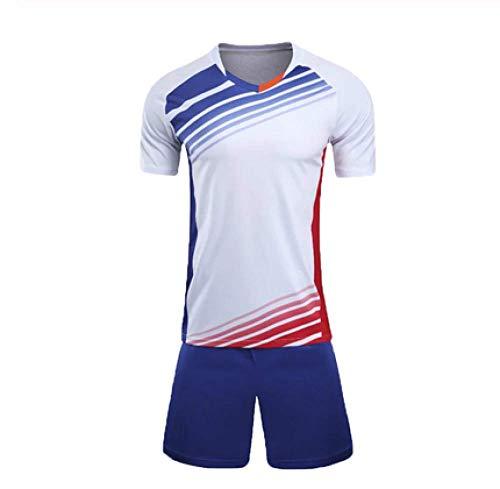 XIAOL jongens voetbal truien voetbal uniform kinderen mannen voetbal kit trainingspakken trainingspakken Jersey aanpassen kinderen voetbal kleding Set