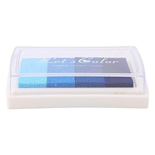 Sellos de almohadilla de tinta artesanal de bricolaje, almohadilla de tinta de acuarelas lindas, almohadilla de tinta para la decoración del libro de recuerdos del sello de...
