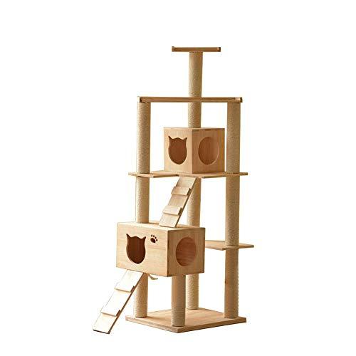 SLONGS - Marco de madera maciza para gatos y gatos