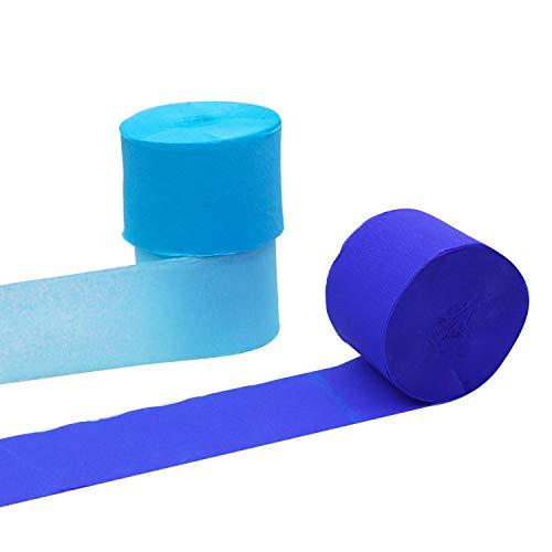 Comprar Artículos Para Fiestas Baratos Ofertas Comprar Online Papel Crepe Pack De 12 25mx4 5cm Azul Papel D