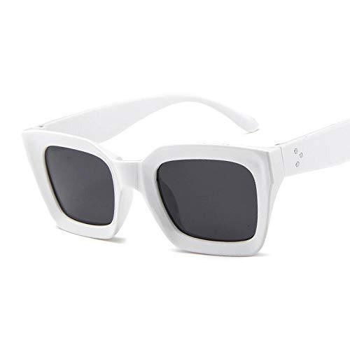 Gafas De Sol Gafas De Sol Cuadradas Retro para Mujer para...