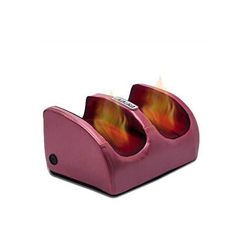 Dr.Lefran 6-in-1-Elektro Fußmassagegerät,mit Hitze-elektrischer tief knetter Shiatsu-Fußmassager-Maschine, Kalb-Bein-Luftkompressions-Massage-Maschinen-Fußpflege-Maschine