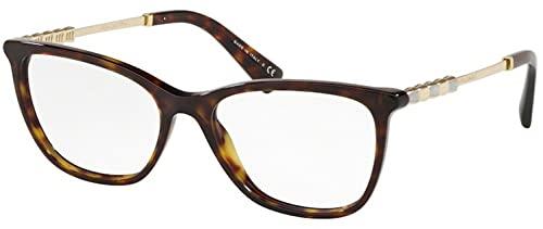 Bulgari 0BV 4161KB 5193 55 Gafas de sol, Marrón (Dark Havana), Unisex Adulto