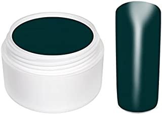 Gel UV de color VERDE ESMERALDA - 5 ml. Gel UV monofase para uñas y uñas postizas