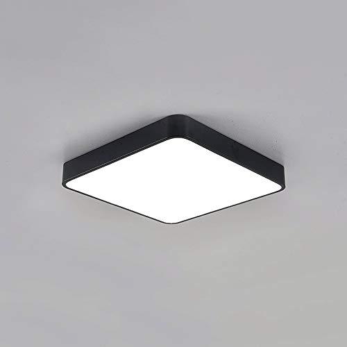Lighfd Ultra-dunne LED 5cm plafond slaapkamer lamp Vierkant Rechthoekig woonkamerverlichting Simple Modern Sfeer ruimte kantoor verlichting decoratie