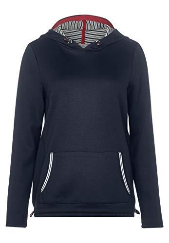 Cecil Damen Lässiges Sweatshirt in Uni deep Blue M