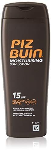 Piz Buin Moisturising Sun Lotion Spf 15 Medium, 200ml