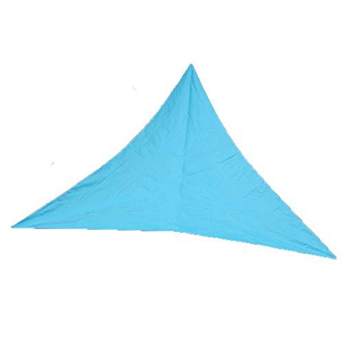 Timetided Toldo Triangular para sombrilla para Exteriores 3 M 4 M 6 M Toldo para protección Solar Toldo para sombrilla Simple Moda Profesional - Azul Cielo - 6x6x6