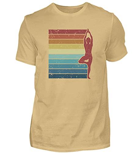 Kundalini Yoga Hatha Yoga | 00968 - Camiseta para hombre arena XXL