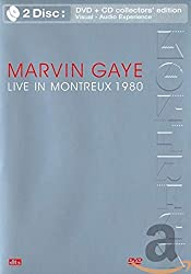 Marvin Gaye - Live in Montreux 1980 (DVD + CD) [(collector's edition) (+CD)]