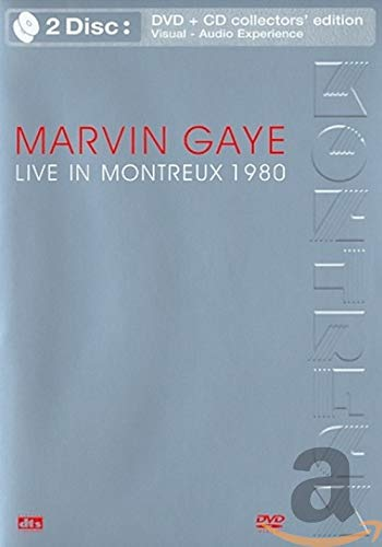 Marvin Gaye - Live in Montreux 1980 (DVD + CD) [(collector\'s edition) (+CD)]