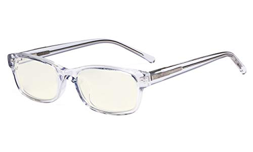 Eyekepper Kinder Blauslicht schutzbrille-Videospiele,Smartphone-Bildschirmbrillen für Jungen und Mädchen - UV-Strahlen blockieren - Transparent