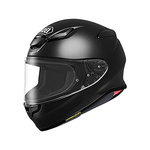 SHOEI ヘルメット Z-8 新型 フルフェイス Z8 バイク メンズ レディース かっこいい おしゃれ シンプル 単色 公道 ツーリング 通販 カラー:ブラック サイズ:M