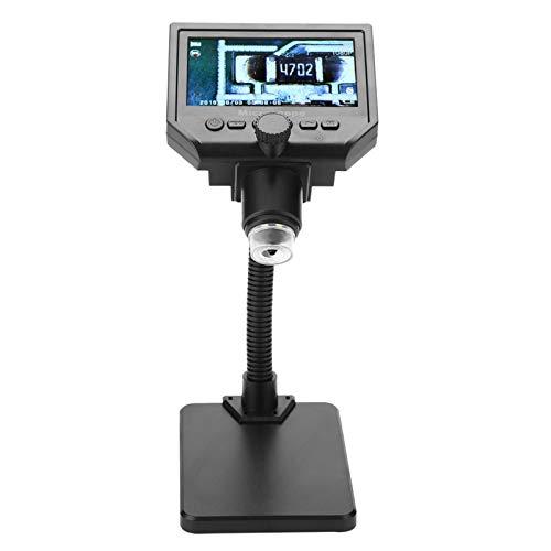 Jeanoko Elektronenmikroskop WiFi Mikroskop G600 Mikroskop Mikroskop mit HD LCD Display(100-240V European Standard)